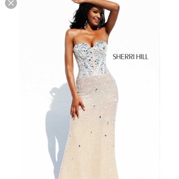 Sherri Hill Dresses   Bedazzled Prom Dress   Poshmark